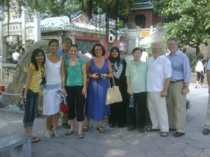 Touring Macau after the WIP Meeting
