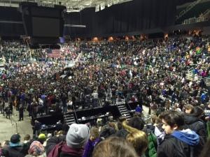Bernie Sanders Rally MSU