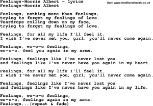 feelings-morris_albert_ly